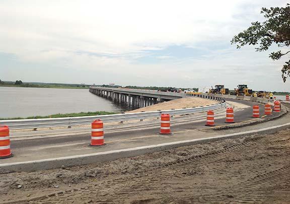 Back River Bridge Under Construction