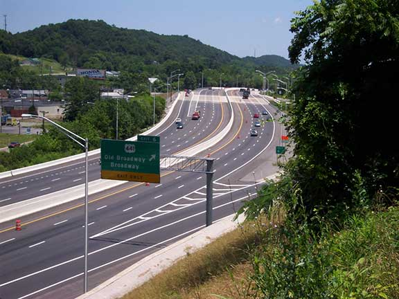Interstate 640 Widening Tennessee