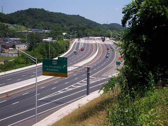 Interstate 640 Widening Tennessee