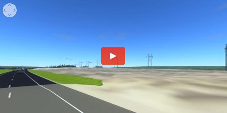 Virtual Reality Interstate Oasis