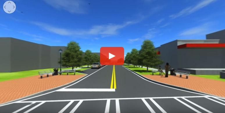 Virtual Reality New Roadway