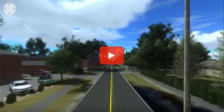 Virtual Reality Urban Sidewalks