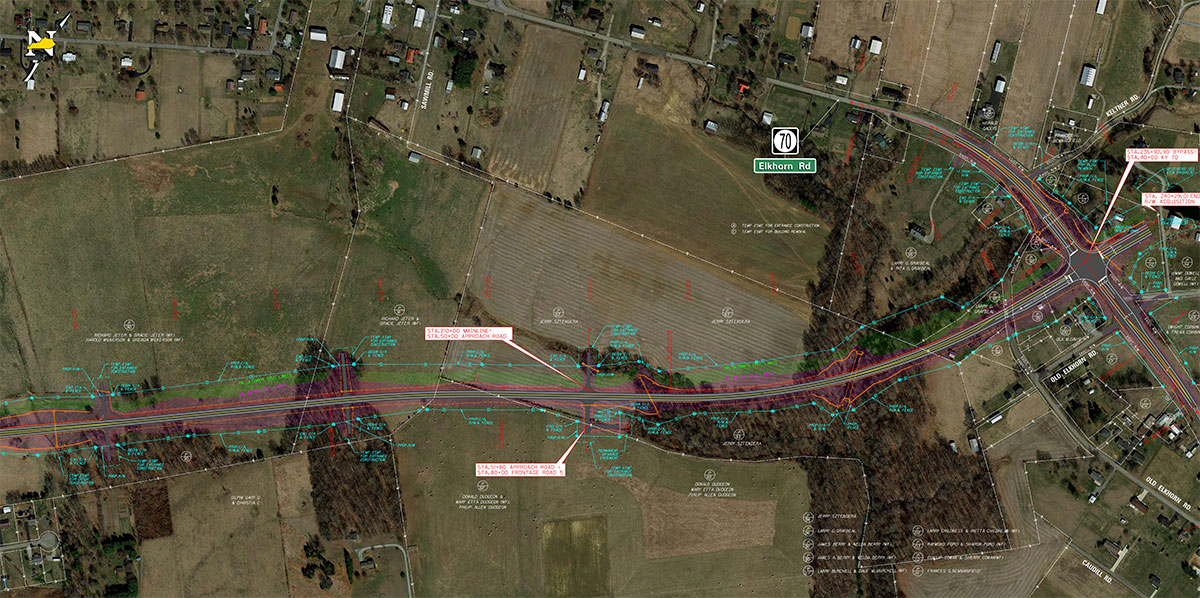 Campbellsville Bypass Right of Way Plans