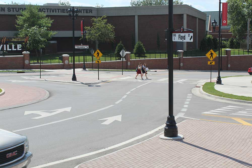 University of Louisville Roundabout